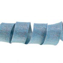 Dekorativt band med glimmer 40mm 20m