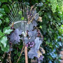 Dekorativa kransbladblad och druvor höstkrans 180cm