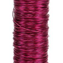 Dekorativ färgtråd Ø0.30mm 30g / 50m rosa