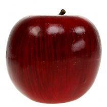 Dekorativa äpplen röda, lackerade Ø8cm 6st