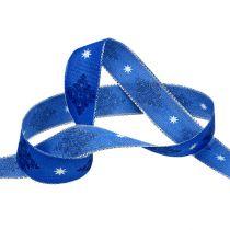 Dekorativt bandblått med mönster 25mm 20m