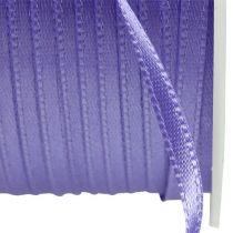 Present- och dekorationband 3mm x 50m lila