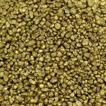 Dekorativt granulatgult guld 2 mm - 3 mm 2 kg