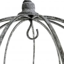 Dekorativ krona för hängning Ø33,5cm H31,5cm