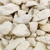 Dekorativa stenar 9mm - 13mm 2kg kräm