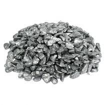Dekorativa stenar 9mm - 13mm 2 kg silver