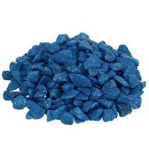 Dekorativa stenar 9mm - 13mm mörkblå 2kg