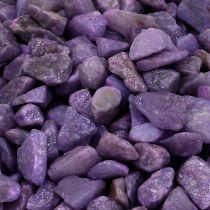 Dekorativa stenar aubergine 9mm - 13mm 2kg