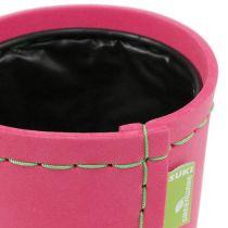 """Dekorativ kruka """"Suki"""" rosa Ø12,5 cm H12,5 cm, 1 st"""