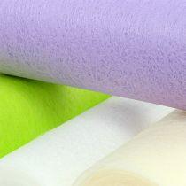 Dekorativ fleece-bordslöpare 23 cm färgad 25m