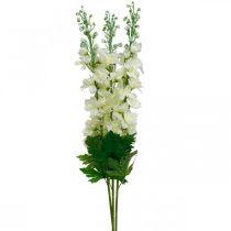 Delphinium vit konstgjord delphinium sidenblommor konstgjorda blommor 3st