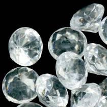Dekorativa stenar diamantklara Ø2,8 cm 150g bordsdekoration