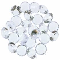 Dekorativa diamanter Ø2cm 500g