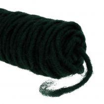 Wick tråd filttråd mörkgrön 55m