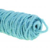 Wick tråd ljusblå 55m