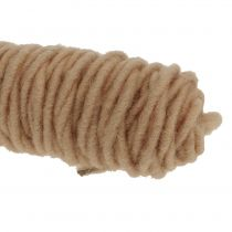Wick tråd 55m naturlig