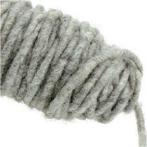 Wicktråd 55m grå