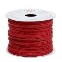 Tråd insvept i 50 m röd