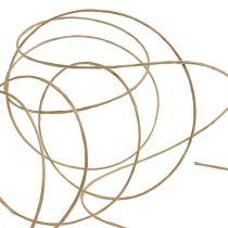 Wire insvept 50m naturligt