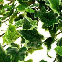 Ivyhängare real-touch grön-vit 130cm