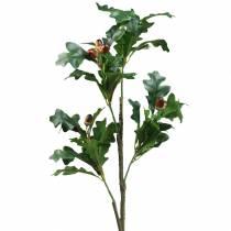 Ekbladgren med ekollon konstgjord 90 cm