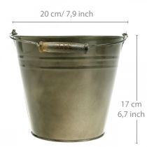 Metalkruka, skopa för plantering, planteringsapparat Ø20cm H17cm