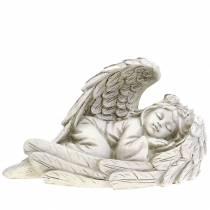Dekorativ ängel som sover 18 cm x 8 cm x 10 cm