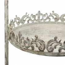 Etagere grå antik H66,5cm