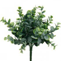 Konstgjord eukalyptus bröllop dekoration eukalyptus grenar grön H26cm