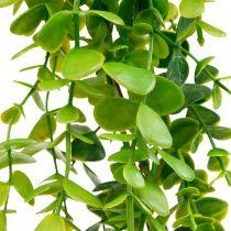 Bröllop dekoration eukalyptus krans konstgjord grön 122cm
