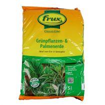 FRUX grön växt och palmjord 5l
