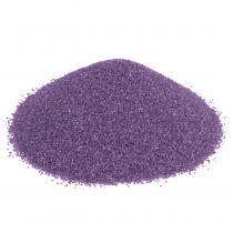 Färgad sand 0,5 mm aubergine 2 kg