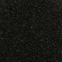 Färg sand 0,5 mm svart 2 kg
