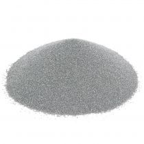 Färg sand 0,5 mm silver 2 kg