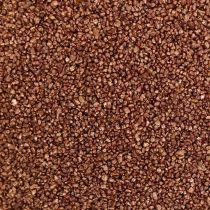 Färgad koppar dekorativ sandbrun Ø0,5mm 2kg