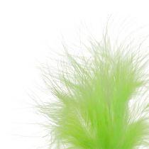 Penna för att fästa L30cm ljusgrön 12st
