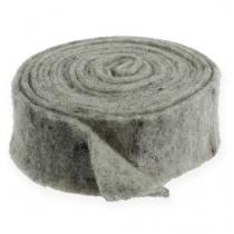 Filttejp grå 7,5 cm 5 m