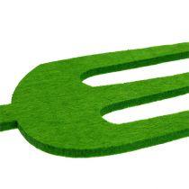 Filt trädgårdsverktyg grön 4st