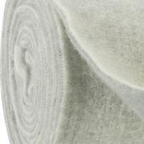 Filttejp 15cm x 5m tvåfärgad grå, vit