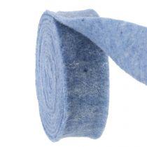 Filtband blå 7,5 cm 5m