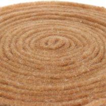 Filtband naturligt 15cm 5m