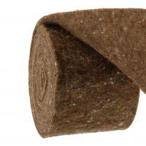 Filttejp, pottebrun brun 15cm 5m