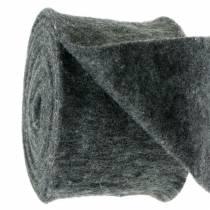 Filtband mörkgrå 15cm 5m