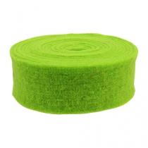 Filt bandgrön 7,5 cm 5m