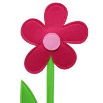 Filtblomma rosa 120cm