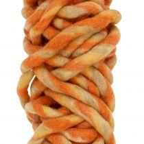 Filtkabel 25m orange, gul, brun