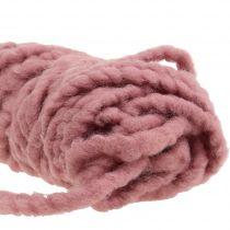 Kardborre Mirabell kände sladden gammal rosa 25m