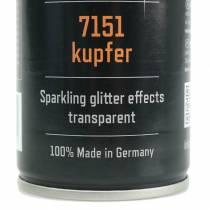 Glitter spray koppar 400ml