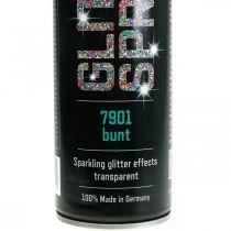 Glitterspray för tillverkning av färgglada sprayfärgstensel 400ml