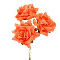 Skumros Ø 10cm Orange 8st